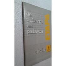 Livro De Palavra Em Palavra - Serie 8 Delta - Etapa
