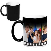 Canecas Mágica Personalizada Com 3 Fotos - Filme