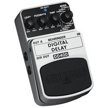 Pedal Para Instrumentos Delay Digital Dd400 - Behringer
