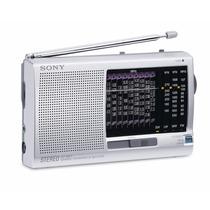 Radio Portatil Sony Icf-sw11 World Band 12 Faixas Mundial