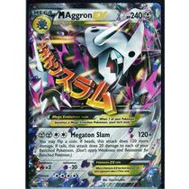 Carta Pokemon Mega Aggron Ex Primal Clash Inglês