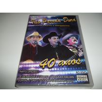 Dvd - Trio Parada Dura - Ao Vivo 40 Anos Lacrado