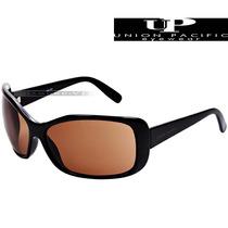 Óculos De Sol Feminino Up Union Pacific Preto Marrom