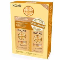 Inoar Kit Duo Absolt Daymoist Shampoo + Condicionador 250 Ml