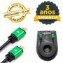 Cabo Hdmi 2.0 4k 3 Metros Premium 19 Pinos 3m Ultra Hd 3d