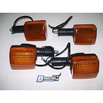Kit Pisca Setas (4 Peças) Honda Cbx 200 Strada
