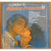 Lp (036) Itália & França - O Melhor Da Música Francesa