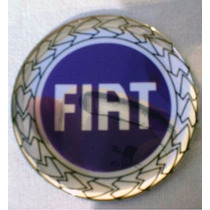 Emblema Fiat Chave Canivete Resinado Botom