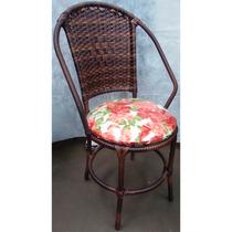 Cadeira Em Junco Com Braços E Assento Em Vários Modelos