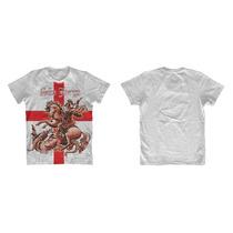 Camiseta Personalizada São Jorge - Salve Jorge
