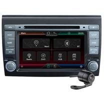 Central Multimídia Fiat Bravo- Dvd- Gps- Tv Dig- Bluetooth