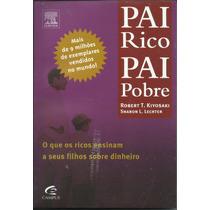 Livro Pai Rico Pai Pobre - Robert T. Kiyosaki Novo E Lacrado