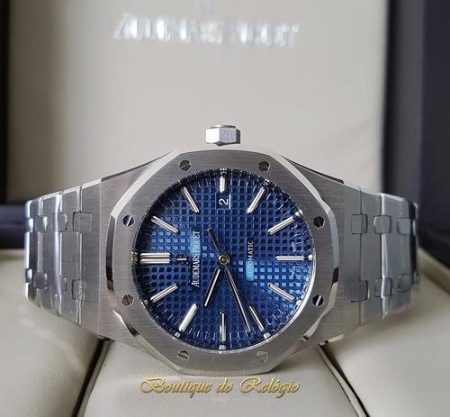 8af4f71ff8c Relógio Eta - Modelo Ap Roo Selfwinding Blue Dial 41mm