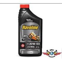 Oleo Havoline Premium 20w-50 Jaso Ma Api Sl Para Motos