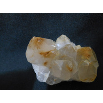 Druza De Cristal De Quartzo Rutilo Dourado Natural Ofertas