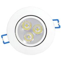 Kit Spot Super Led Branco Direcionável 3w 20 Unidades Quente