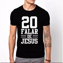 Camisas Masculinas Estampa Criativa Gospel Evangélica