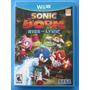 Sonic Boom: Rise Of Lyric - Wii U - Lacrado - Pronta Entrega