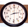 6691 - Relógio Parede Sweep Canto Passaros Brasileiros Herwe