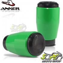 Slider Dianteiro Anker Cb 1000 R 2011 Em Diante Verde Ninja