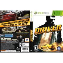 Xbox 360 - Driver San Francisco - Míd Fís - Original - Semi