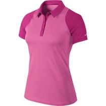 Polo Nike Sphere Ss Pink Feminina