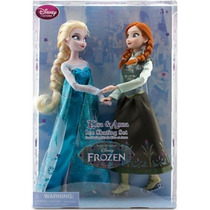 Disney Frozen Bonecas Elsa E Anna - Patins - Pronta Entrega