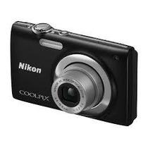 Câmera Digital Nikon Coolpix S2500 12 Mp 4 X Preta
