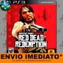 Red Dead Redemption Ps3 Código Psn Promoção