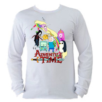 Camiseta Infantil Manga Longa Hora De Aventura 05