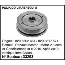 Polia Do Virabrequim Renault Master Até 2010