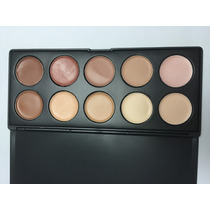 Maquiagem Profissional - Paleta De Corretivos 10 Cores - P10