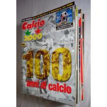 Revista Calcio 2000 Futebol Lote 13 Unidades 2000 E 2001