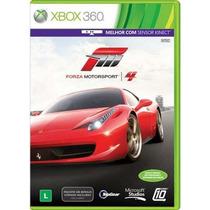 Jogo Forza Motorsport 4 Ntsc Original Para Xbox 360