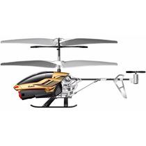 Helicóptero Controle Remoto C/ Câmera Gyro 2.4ghz - Dourado!