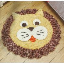Tapete Infantil Leão De Croche
