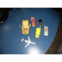 Aviao E Carrinhos De Brinquedo Minhatura Pra Colesionador