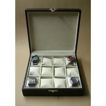 Estojo 12 Relógios, Porta Relógio, Caixa Relógio, Promoção !
