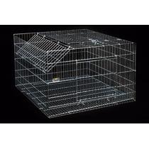 Gaiola Desmontável - Coelho, Hamster, Roedores, 60 X 40 X 60