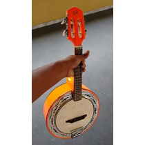 Banjo Emerson Brasa Caixa De 9. Elétrico - Laranja Lumian