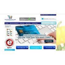 Supermercado Virtual Completo - 14.500 Produtos Cadastrados.