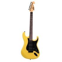 Guitarra Tagima Memphis New Mg32 Strato - Amarelo Neon