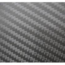 Adesivo Envelopamento Carro Moto Fibra Carbono Grafite 1mx3m