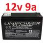Bateria Selada 12v 9a Up1290 Nobreak Alarme 9ah Unipower *