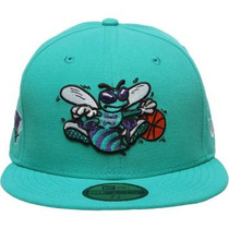 Boné New Era 59fifty State Fill Charlotte Hornets Original