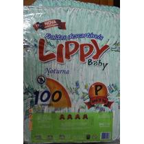 Fralda Noturna Infantil Lippy Baby P - Pacote Com 500 Unid