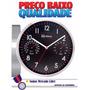 Relógio De Parede Herweg 6397 Preto Ótimo P/ Dar De Presente