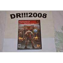 God Of War 2 Original, Novo E Lacrado P/ Ps2!!!