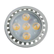 Kit 5 Lâmpada Gu10 Dimerizável Led 5w Dicroica