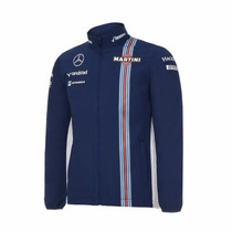 Nova Jaqueta Softshell Williams Martini Racing F1 Team 2016